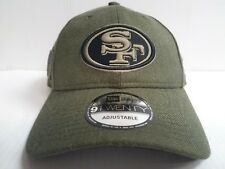San Francisoc 49ers Cap Era 9twenty Adjustable NFL 2018 Salute to Service Hat
