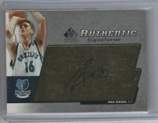 PAU GASOL 2003 04 SP SIGNATURE EDITION AUTHENTIC SIGNATURES AUTO