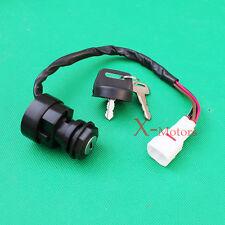 4 Wire Ignition Key Switch Yamaha YFM 350 Warrior Banshee Raptor Grizzly Key set