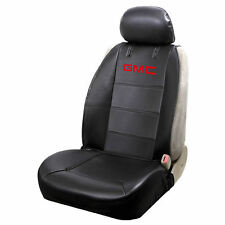 New GMC Elite Style Sideless Synthetic Leather Car Truck SUV Front Seat Cover