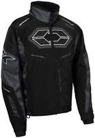 Castle X Mens Blade G4 Jacket Black/Charcoal Size M-4XL  Snowmobile Jacket