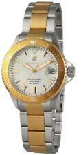 Relojes de pulsera automático de plata de mujer