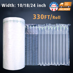 330FT Air Column Bubble Anti-Drop Inflatable Buffer Packaging Protector Ship Bag