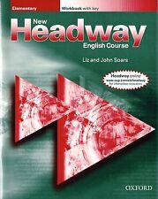 Oxford New headway Elementary Workbook with Key par vole @ Neuf @