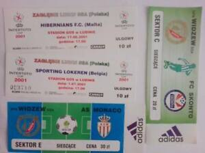 Tickets - UEFA Cup, Champions League and Intertoto
