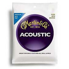 Martin Strings M150 80/20 Bronze Acoustic Guitar Strings Medium 13-56