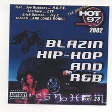 Hot 97 Blazin Hip Hop & R&B Vol. 28 CD 2002  Missy Elliott, Jadakiss, 50 Cent