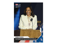 2020 Topps Now 11 Kamala Harris Vice President Elect 1st Woman of Color Biden PS