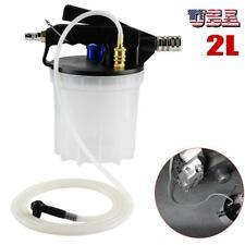 2L Car Brake Bleeding & Clutch Fluid Bleeder Vacuum Pump Tool Kit Air Powered US