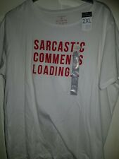 Size 2xl 22-24 Funny Sarcastic Comments Loading Top