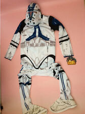 STAR WARS STORM TROOPER COSTUME Age 5/7 years complete costume Face Mask boot