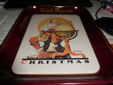 Norman Rockwell Limited Edition '76 Lasser's Beverages Collector Tray