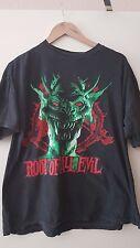 Vintage Slayer Metal t shirt 1988 Root Of All Evil World Sacrifice Genuine L