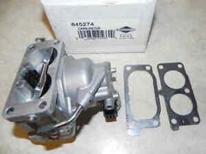 Briggs & Stratton 845274 Carburetor Replaces # 844729, 841109