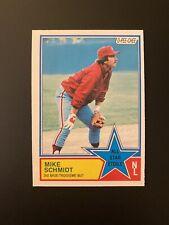 1983 O-Pee-Chee OPC Mike Schmidt #342