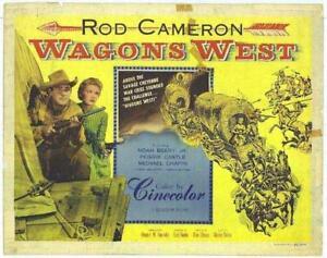wagons west 1952 western rod cameron dvd