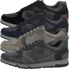 GEOX U Wilmer A Schuhe Herren Low Cut Sneaker Freizeit Halbschuhe U943XA0BCMEC
