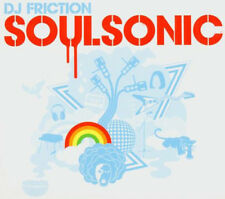 DJ FRICTION = soulsonic =CD= ELECTRO DISCO FUNK HIP HOP BREAK SOUNDS!
