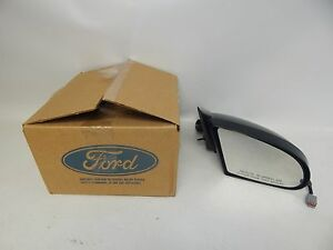 New Oem 92-95 Ford Taurus Mercury Front Right Passenger Power Side Mirror Primed