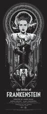 Ken Taylor The Bride of Frankenstein Universal Monsters Mondo Poster