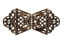Schürzenschließe gold antik Tracht Schnalle Metall Dirndl 70mmx30mm