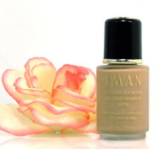 IMAN Second To None Oil-Free Makeup Sand 4 Liquid Foundation 1 oz Matte Glow NEW