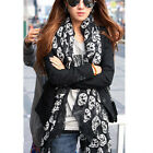 6 Different Style Women Long Soft Scarves Silky Chiffon Wrap Shawl Scarf  Beauty