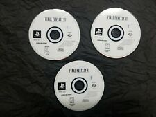 Final Fantasy Vii 7 Ps1 Playstation 1 One Ps 1 Black Label Discs