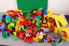 Lego Duplo - 3. KG Bunte Duplo Bausteine mit großer Platte  - Bunt gemischt -