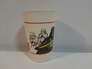 Vintage 1980 McDonald's Star Wars Plastic Drinking Cup Lot 1