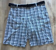 Works Ron Chereskin Plaid Shorts Men's s Size 42 - A104