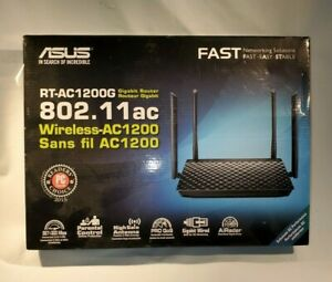 Asus IEEE 802.11ac Ethernet Wireless Router RT AC1200G