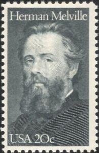 USA 1984 Herman Melville/Writer/Literature/Books/Writers/People 1v (us1011)