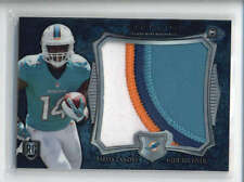 JARVIS LANDRY 2014 BOWMAN STERLING BLUE WAVE ROOKIE WORN 4-CLR PATCH AB6483