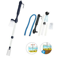 Electric Gravel Cleaner Aquarium Fish Tank Automatic Vacuum Water Change NEW