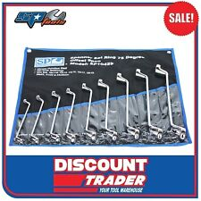 SP Tools Spanner Set 9 Piece Metric 75° Degree Offset Ring SP10429