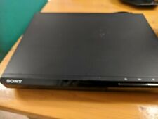 Sony dvd player, powers up, is recognised by tv bit only plays cds. For parts.