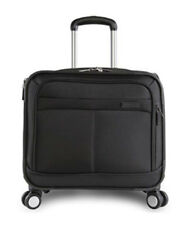 Perry Ellis ROLLING Laptop BUSINESS Bag LUGGAGE Carry-On BRIEFCASE Gently Used