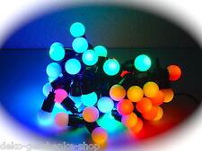 40 LED CATENA DI LUCI DA FESTA GHIRLANDA LUMINOSA 6,9 m INTERNO Colorato Sfere
