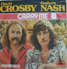 "7"" 1975 RARE! DAVID CROSBY & GRAHAM NASH Carry Me /VG+"