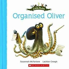 ORGANISED OLIVER Children's Picture Reading Story Little Mates Book Brand New