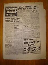 MELODY MAKER 1944 #595 JAZZ SWING BILLY TERNENT VILLIER