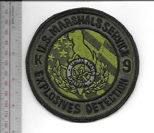 US Marshal Service K-9 Explosive Detection Canine Eastern District acu Vel hooks