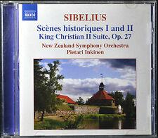 Sibelius: Scenes historiques 1 & 2; King Christian II Suite, Op. 27 [Canada] - M