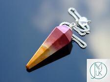 Mookaite Gemstone Point Pendulum Dowsing Crystal Dowser Reiki Chakra Healing