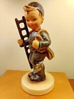 "Hummel Figurine #12/1 ""Chimney Sweep"" TMK-2 Full Bee 6-1/4"" Vintage Boy w Ladder"