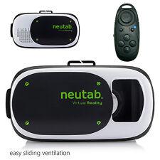 neutab VR Box Headset Virtual Reality 3D Glasses HD TV Box for iPhone Smartphone