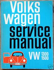 Delius Klasing BENTLEY SERVICE Manuale VW 1300 1500, 1966 -1968 LIBRO in brossura
