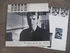 "STING 1985 ""dream of blue turtles"" NEAR MINT ORGNL US LP w/PRINTED INNER SLEEVE"