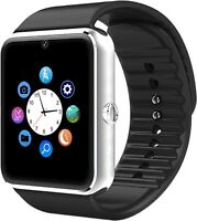GT08 Bluetooth Smart Watch  SIM Card Slot Watch for Android Samsung Apple iphone